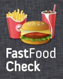 FastfoodCheck für Mobiltelefone als App